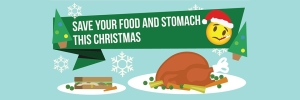 Top tips to save your food and your stomach this Christmas