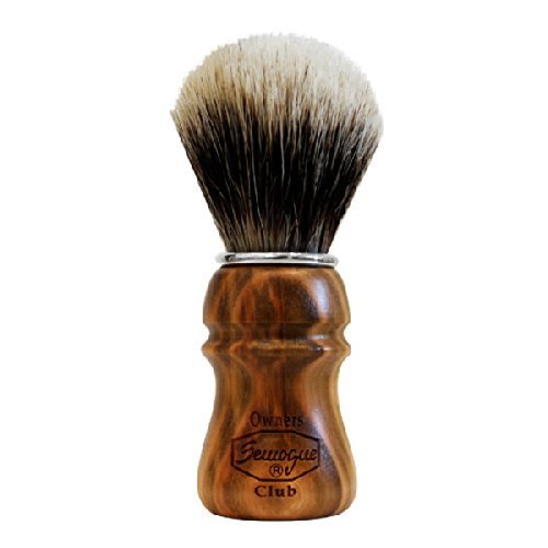 S O C Cherry Wood Shave Brush Badger Shave Brush By Semogue