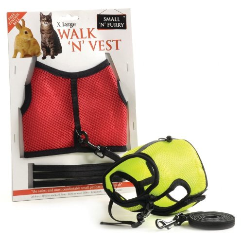 Small 'n' Furry Walk 'n' Vest 'n' Leash (xlarge)