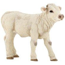 Charolais Calf - 8cm Farm Animal Papo 51157 -  charolais calf 8 cm farm animal papo 51157