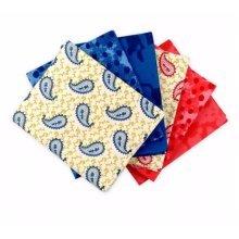 Fat Quarter Bundle - 100% Cotton - Sorrento - Pack of 6