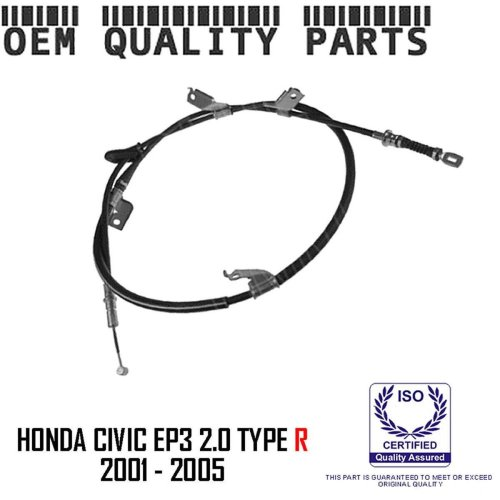 For Honda Civic 2.0 Typer R EP3 Rear Hand Brake Parking Cable Left Hand Side LH