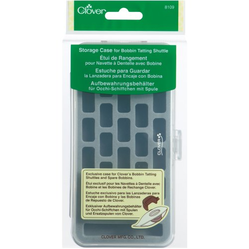 Clover Bobbin Tatting Shuttle Storage Case-