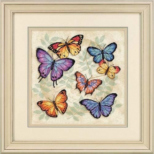 D35145 - Dimensions Counted X Stitch - Butterfly Profusion