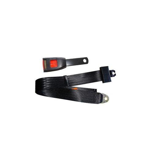 Seat Belt - Static Lap - Black