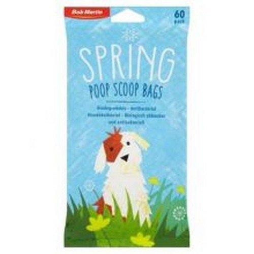 Bob Martin Spring Antibacterial Biodegradable Poop Scoop Bags