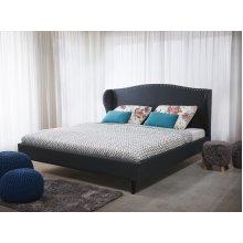 Bed - Super King Size Bed Frame - Upholstered - COLMAR