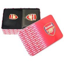 Arsenal Football Club - Arsenal F.c Supporters Wallet And Socks Tin - Team -  football team official supporters wallet socks tin gift set mens xmas