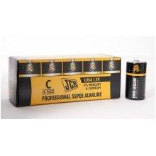 10 x JCB C Professional Super Alkaline Industrial Batteries