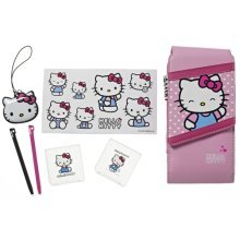 Hello Kitty 7-in-1 Accessory Kit Nintendo 3DS DSi DS Lite