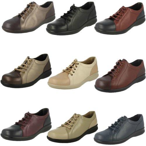 Ladies Easy B Lace Up Shoes Phoebe - 4E Fit