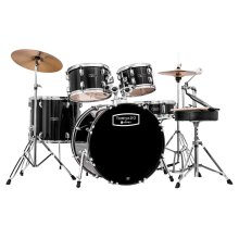 Mapex Tornado 22-Inch LA Fusion Drum Kit, Black