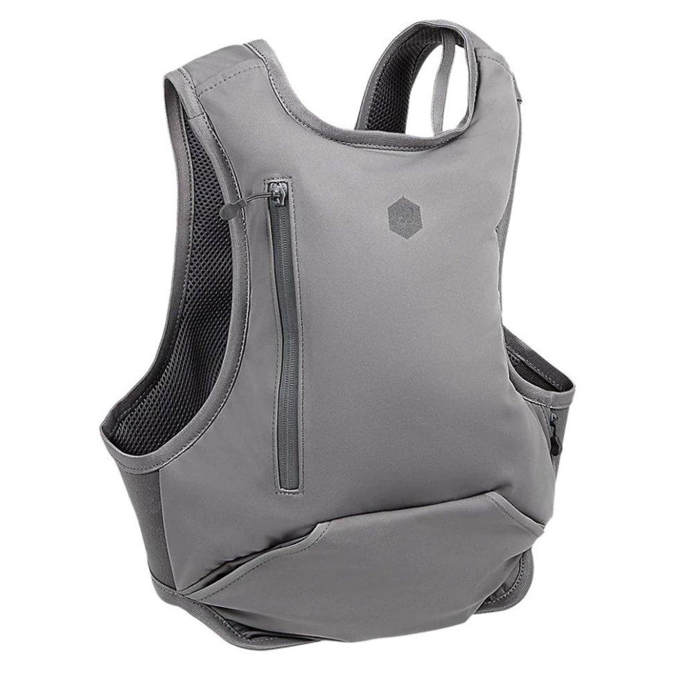 tukkukaupassa poimittu myyntipiste verkossa Asics Running Exercise Fitness Backpack Rucksack Bag Carbon Grey