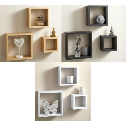 Floating Wall Cube Shelf Display Shelves