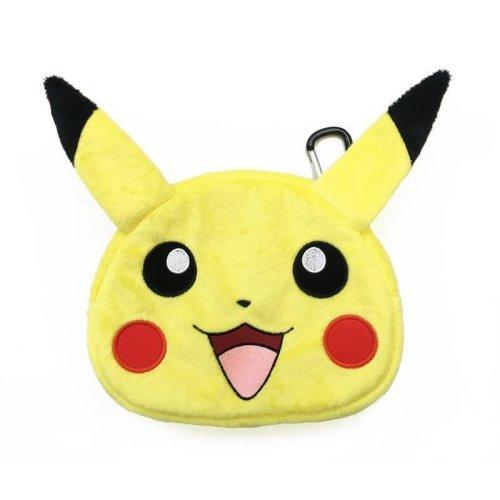 HORI Universal Pokemon Pikachu Plush Pouch XL Nintendo 3DS