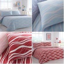 Ocean Wave Duvet Cover Bedding Set