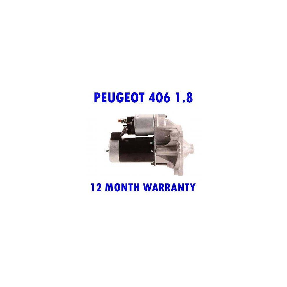 Peugeot 406 1.8 1.8 2.0 1995 1996 1997 1998 1999-2004 starter motor