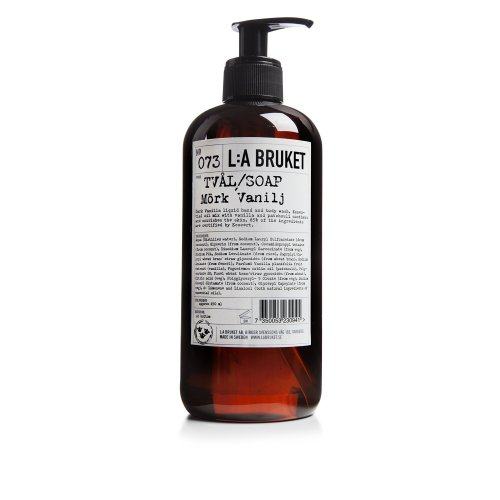 L: A Bruket No. 73Liquid Soap Dark Vanilla, 450ml