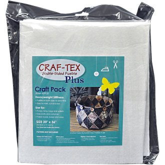 """Bosal Craf-Tex Plus Double-Sided Fusible Foam Craft Pack-20""""X36"""""""