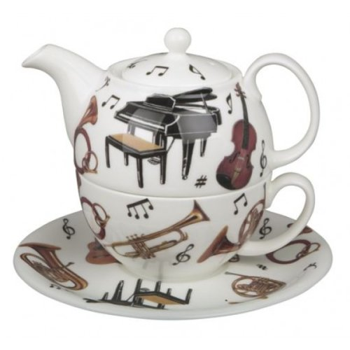 Roy Kirkham Tea for One Set, Concert, Musical Instrument Design