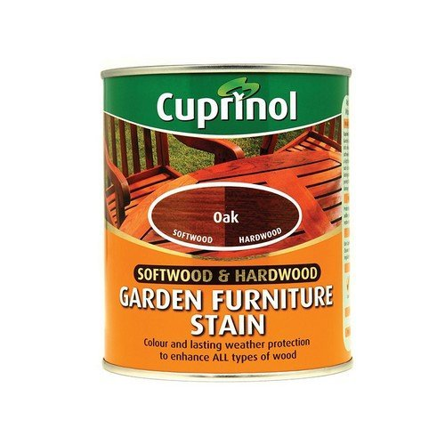 Cuprinol 5158525 Softwood & Hardwood Garden Furniture Stain Oak 750ml