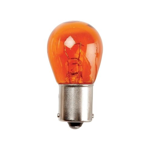 Standard Bulbs - 12V 21W BA15s SCC - Indicator (Amber) - 25mm