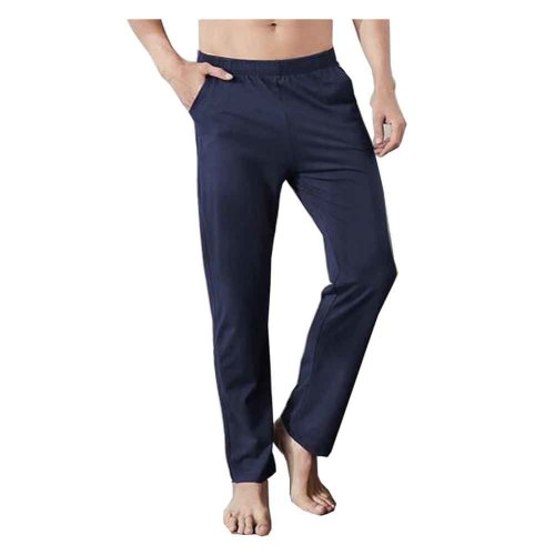 Cotton Men's Sweatpants Men's Pajamas Men's Sweats for Spring Autumn [D]