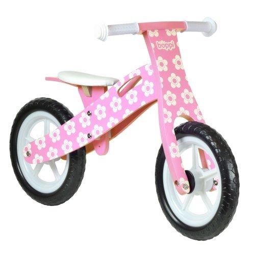 boppi® Wooden Balance Bike - Pink Flower