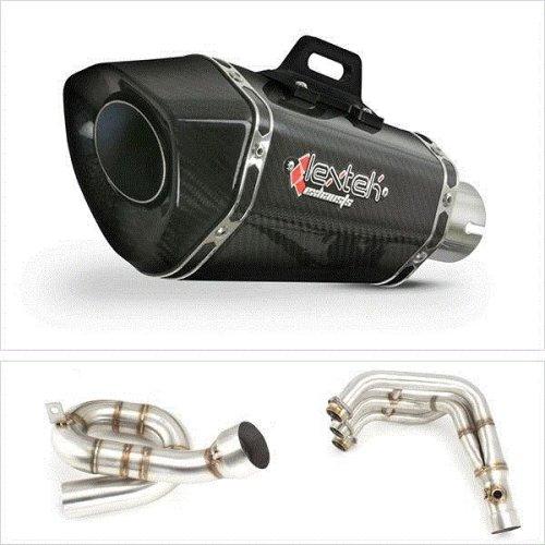 Yamaha MT-09 2013 - 2018 Lextek XP8C Carbon Complete Exhaust System
