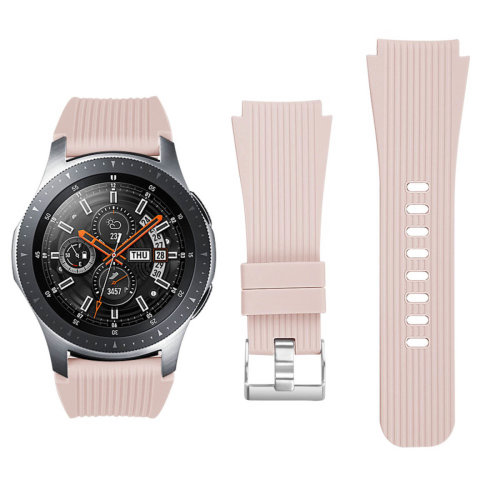 Samsung Galaxy Watch 46 mm soft silicone replacement bracelet - Pink