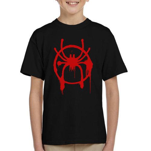 Spider Man Into The Spiderverse Spray Paint Kid's T-Shirt