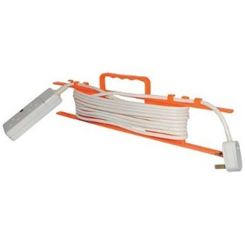 480mm White Cable Tidy With Frame