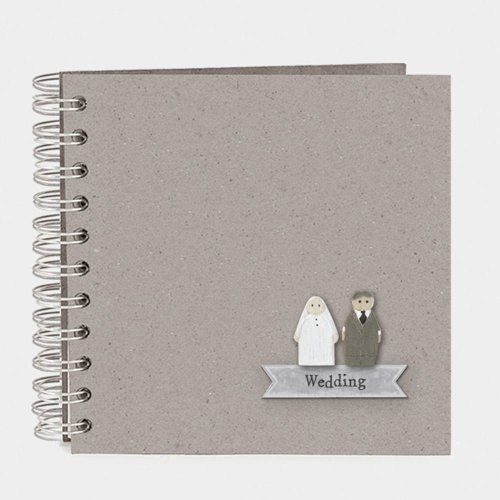 East of India Wedding Guest Book Keepsake Book