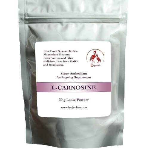 Lonjevitee Carnosine 30 g loose powder.