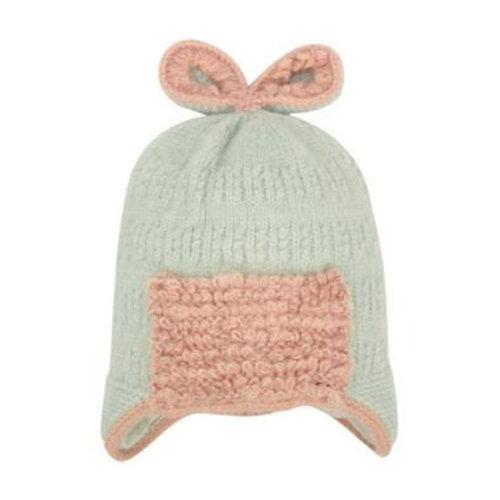Winter Cute Kid Beanie Hat Warm Children Beanie Cap Ear Warmer, A