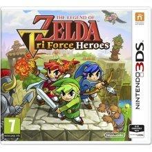 The Legend of Zelda Triforce Heroes 3DS Game