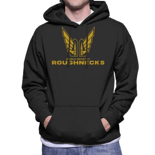 Starship Troopers Mobile Infantry Roughnecks Logo Men's Hooded Sweatshirt
