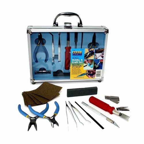 Modelcraft - 18 Pc Hobby andCraft Tool Set