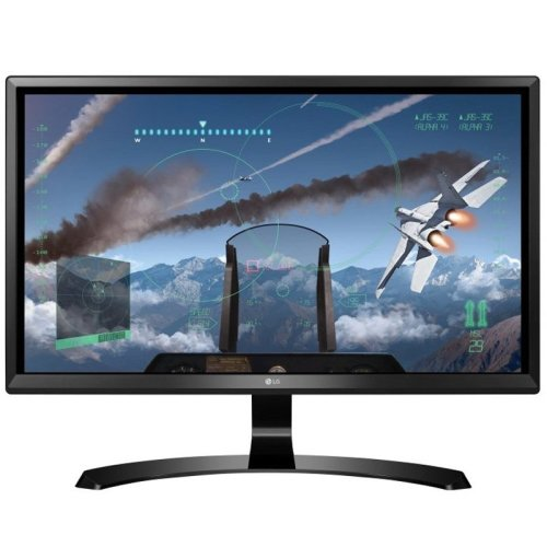 LG 24UD58 24In Widescreen 4K Monitor -DP HDMI