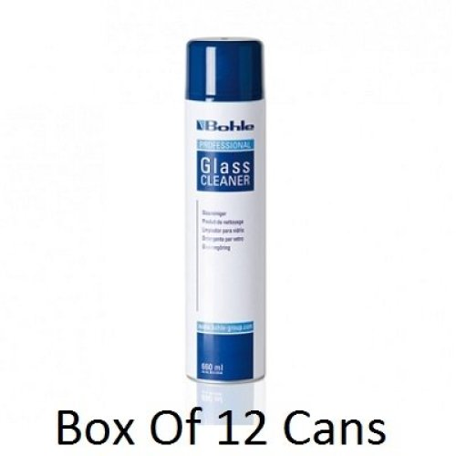 Bohle Glass Cleaner X 12 Cans