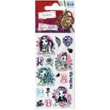 Ever After High Stickers - Set of 3 Sheets