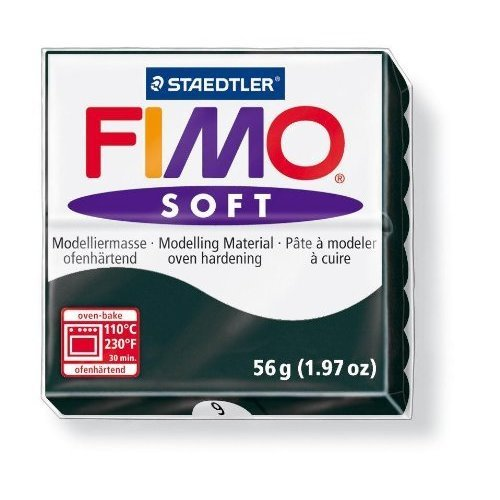 Staedtler - Fimo Soft 57g, Black