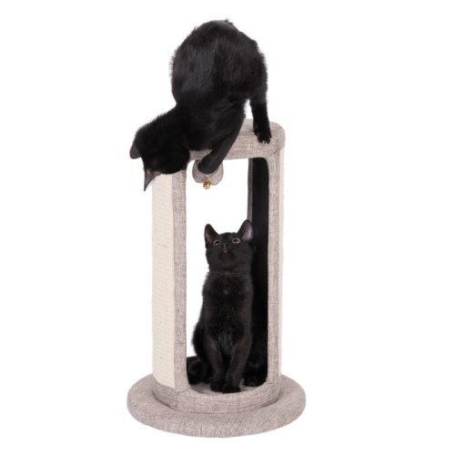 Cat Southpaw Scratch Post Play Climb Toy Platform Den