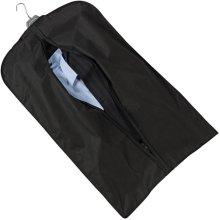 Ashley Housewares - Clothes Travel Cover - Protective Dress Suit Hanger - Black