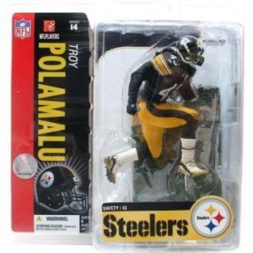 McFarlane Toys 6 NFL Series 14  Troy Polamalu Black Jersey