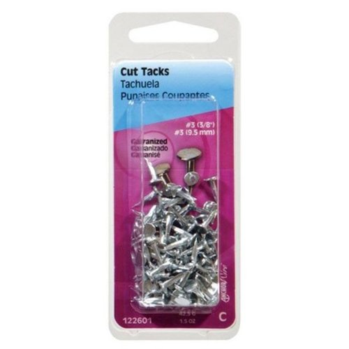 Hillman 122605 No 12 x 10.06 in. Tacks - pack of 6