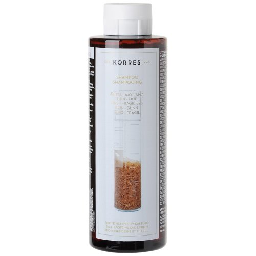KORRES Shampoo Rice Proteins and Linden for Thin and Fine Hair 250 ml