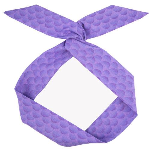 Adjustable Bow Japanese Styles Cross Hair Band Headband For Women, Purple,#5
