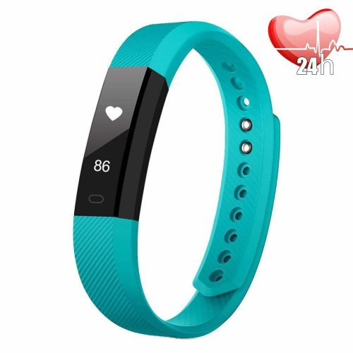 Fitness Tracker,Fitness Tracker Watch with GPS, Heart Rate Monitor, Slim Touch Screen and Wristbands, IP67 Wearable Waterproof Activity Tracker...