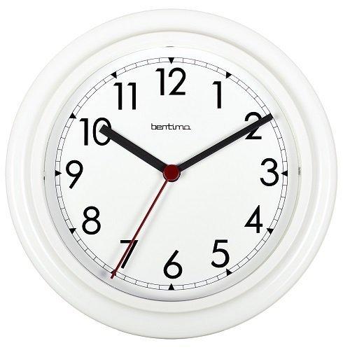 Bentima 21242 23 cm Stratford Wall Clock, White